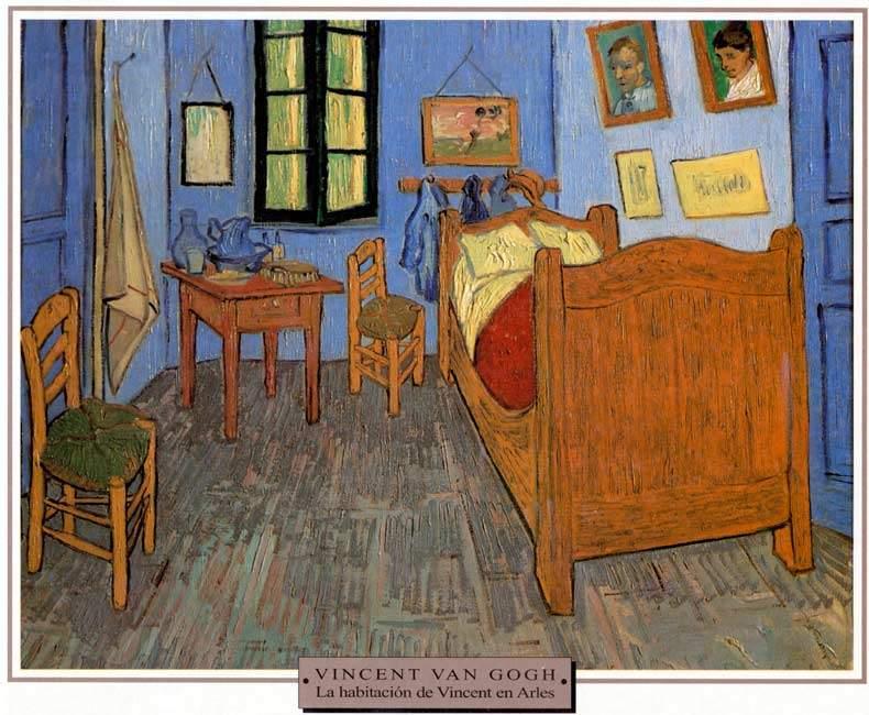 Van Gogh Su Habitacion En A