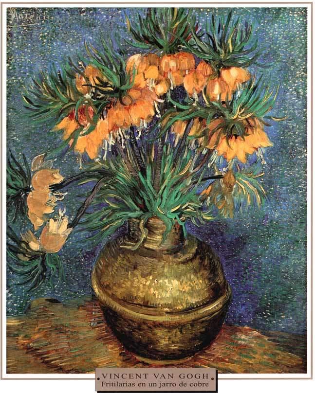 Van Gogh Fritilarias En Un