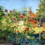 jardin en trouville