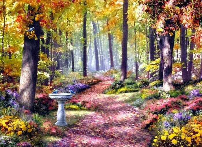 Paisajes de bosques - Immagini di giardini di villette ...